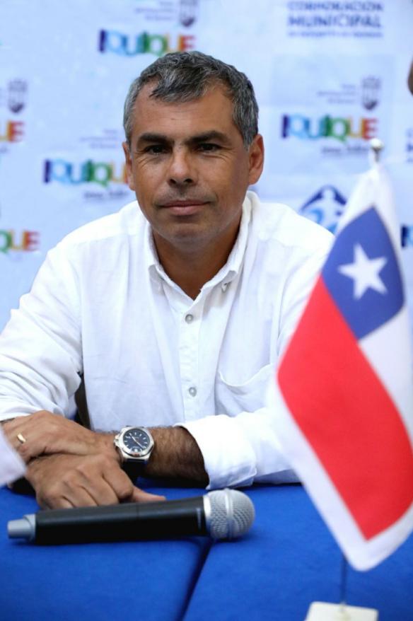 Mauricio Soria Macchiavello, alcalde de Iquique