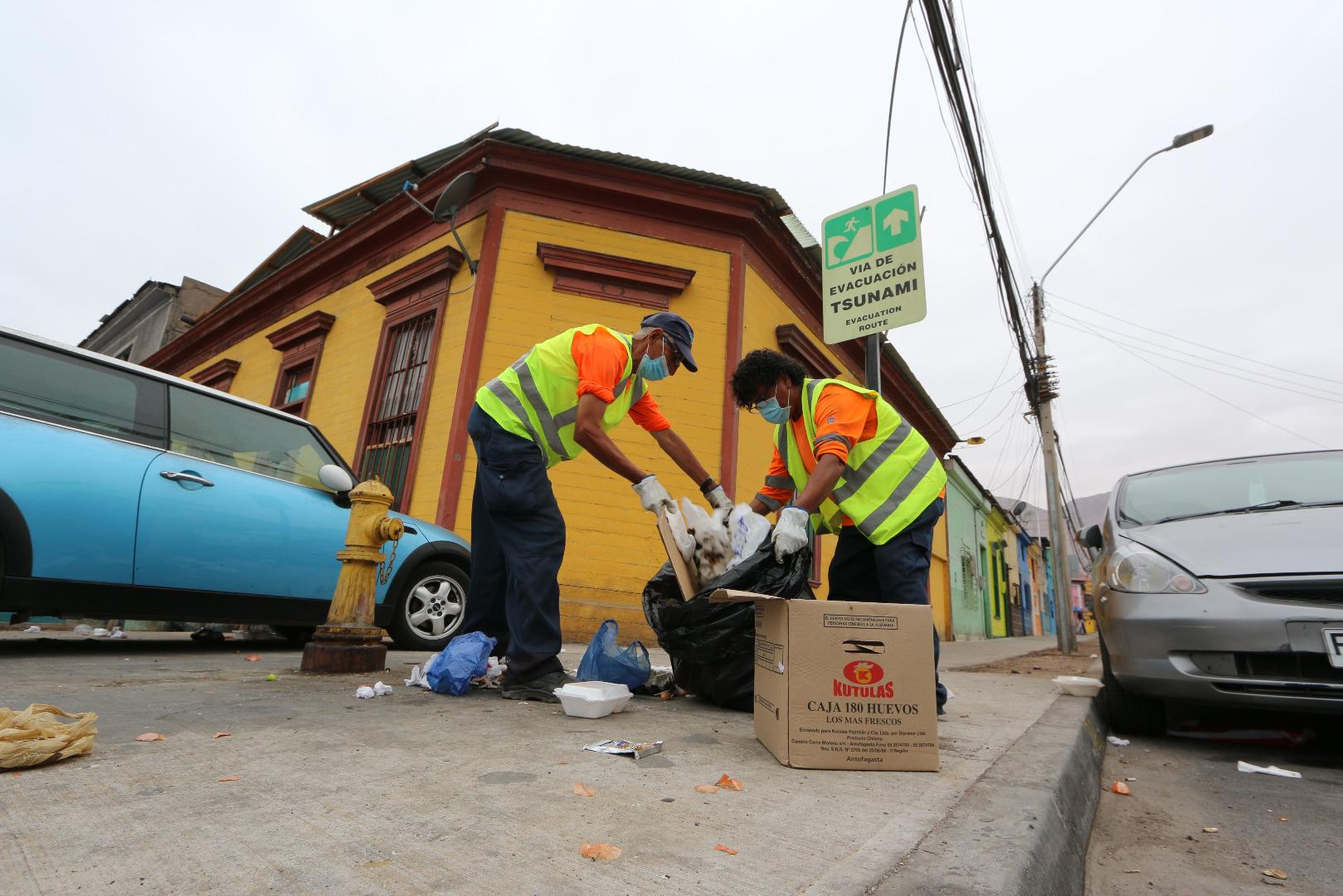 Municipalidad de Iquique requiere trabajadores para reforzar labores de aseo y ornato en fase de Preparación