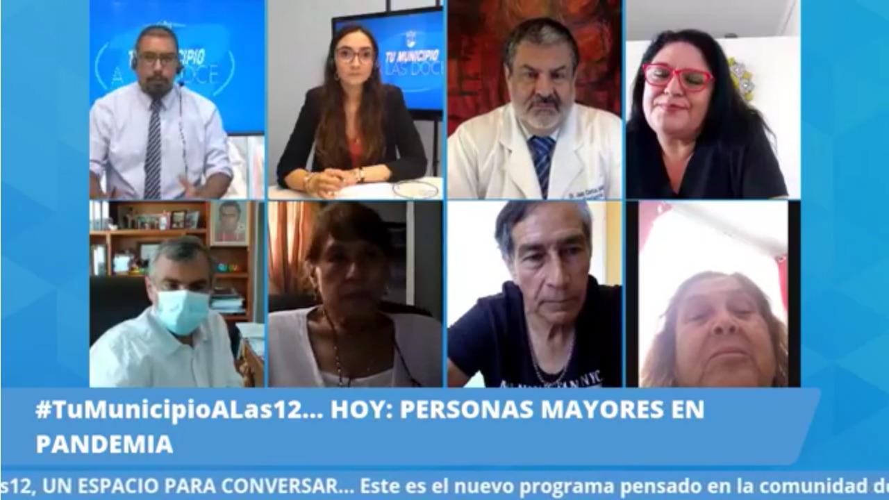 Personas mayores y alimentación en pandemia marcan pauta de nuevo programa de redes sociales de IMI y Radio Municipal