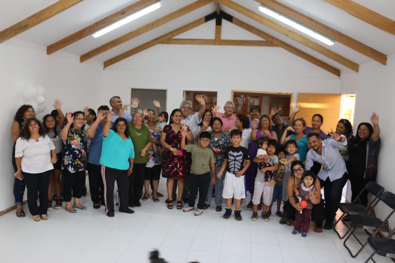 Inauguración Sede Social de la Junta de Vecinos Valle Verde