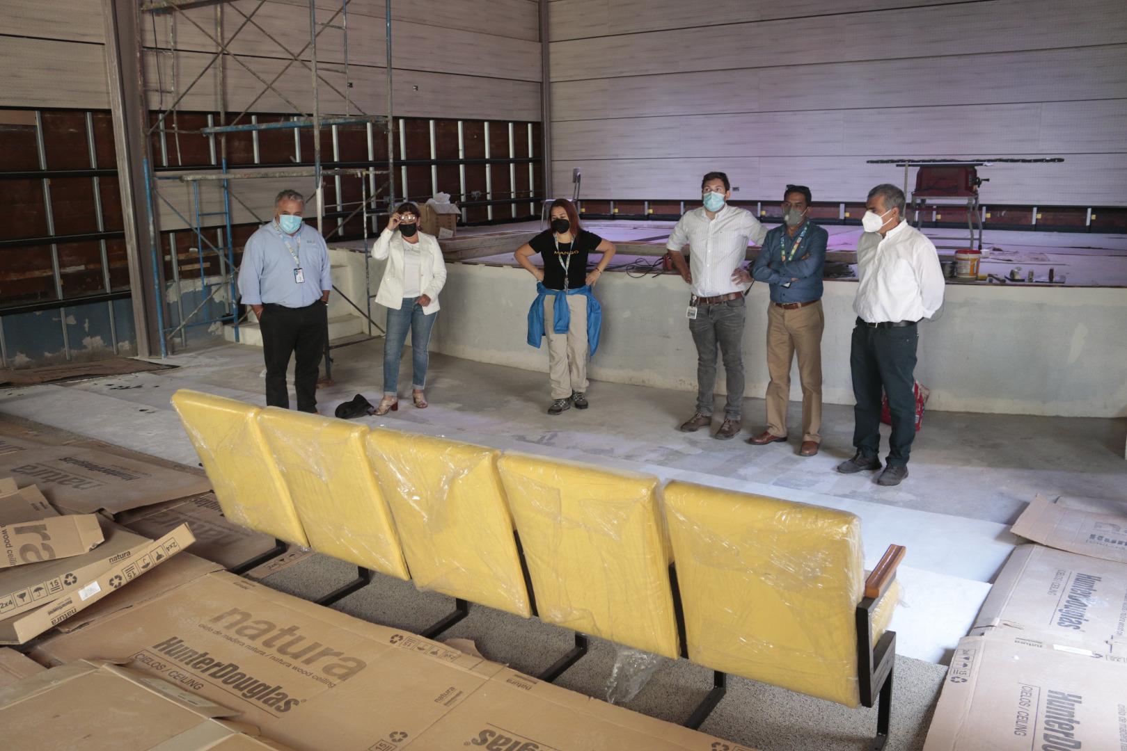 Cormudesi habilita nuevo teatro en la Escuela Artística Violeta Parra
