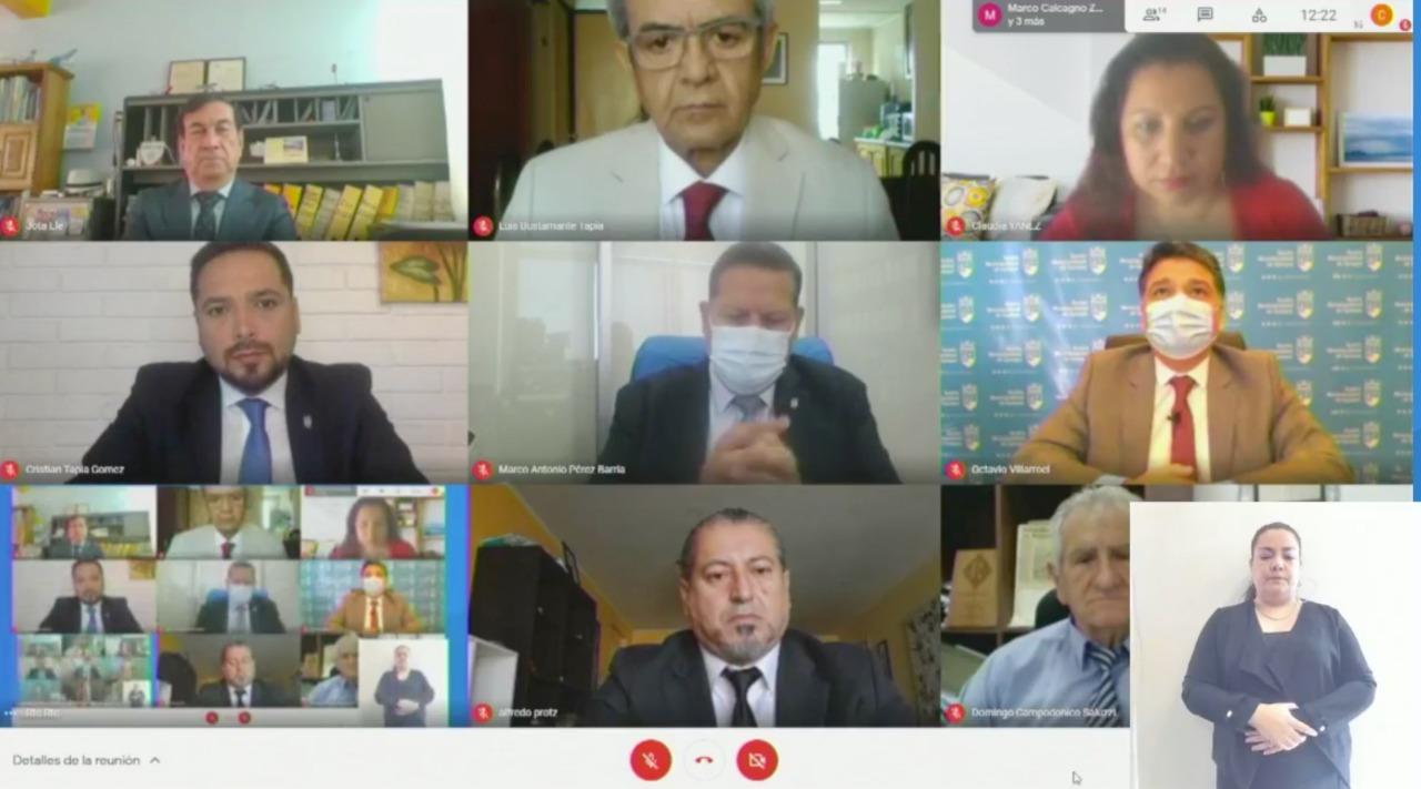 Municipalidad de Iquique entregó Cuenta Pública 2020 por vía remota