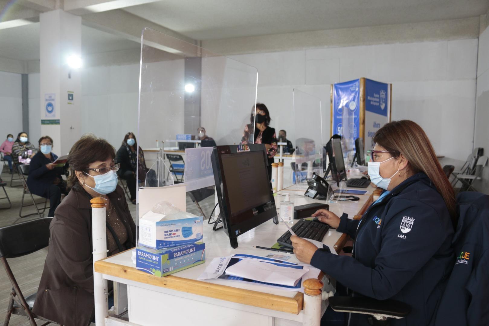 Municipalidad de Iquique guiará a vecinos en postulación al IFE Universal