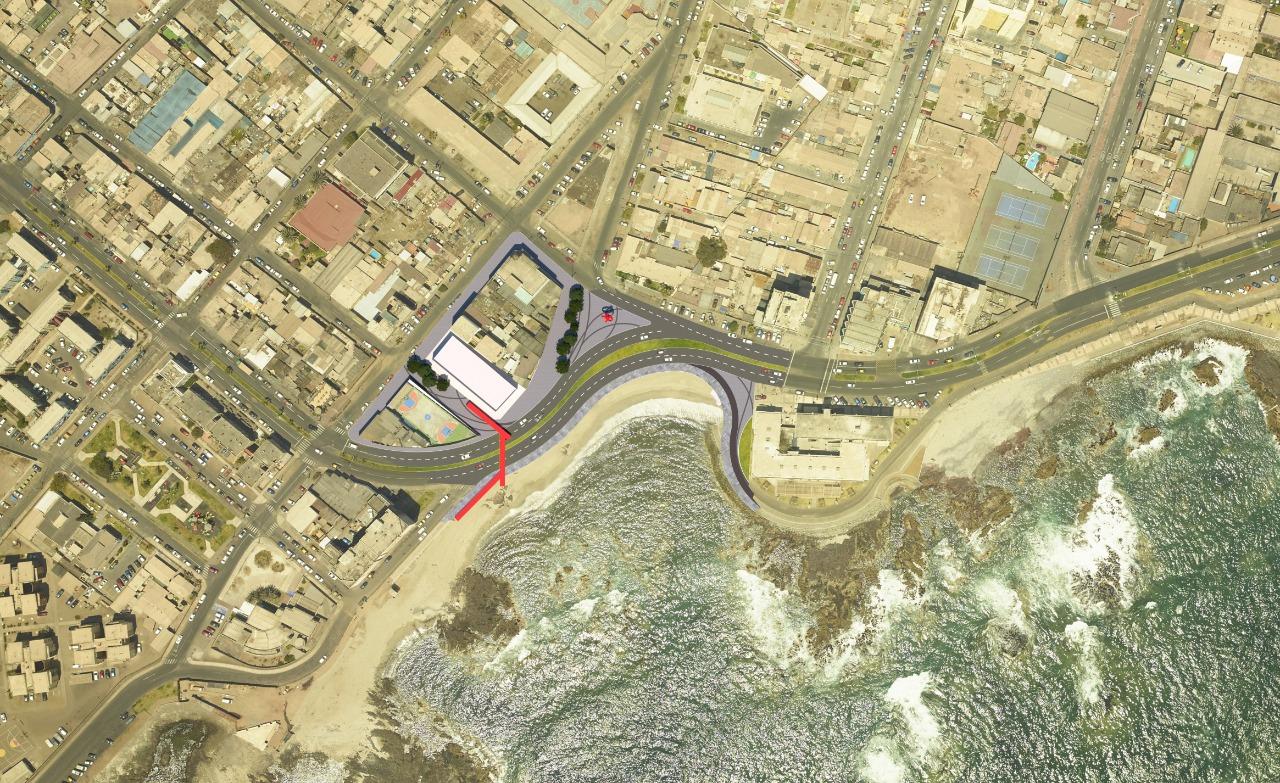 Municipalidad de Iquique presenta propuesta para recuperar Playa Bellavista