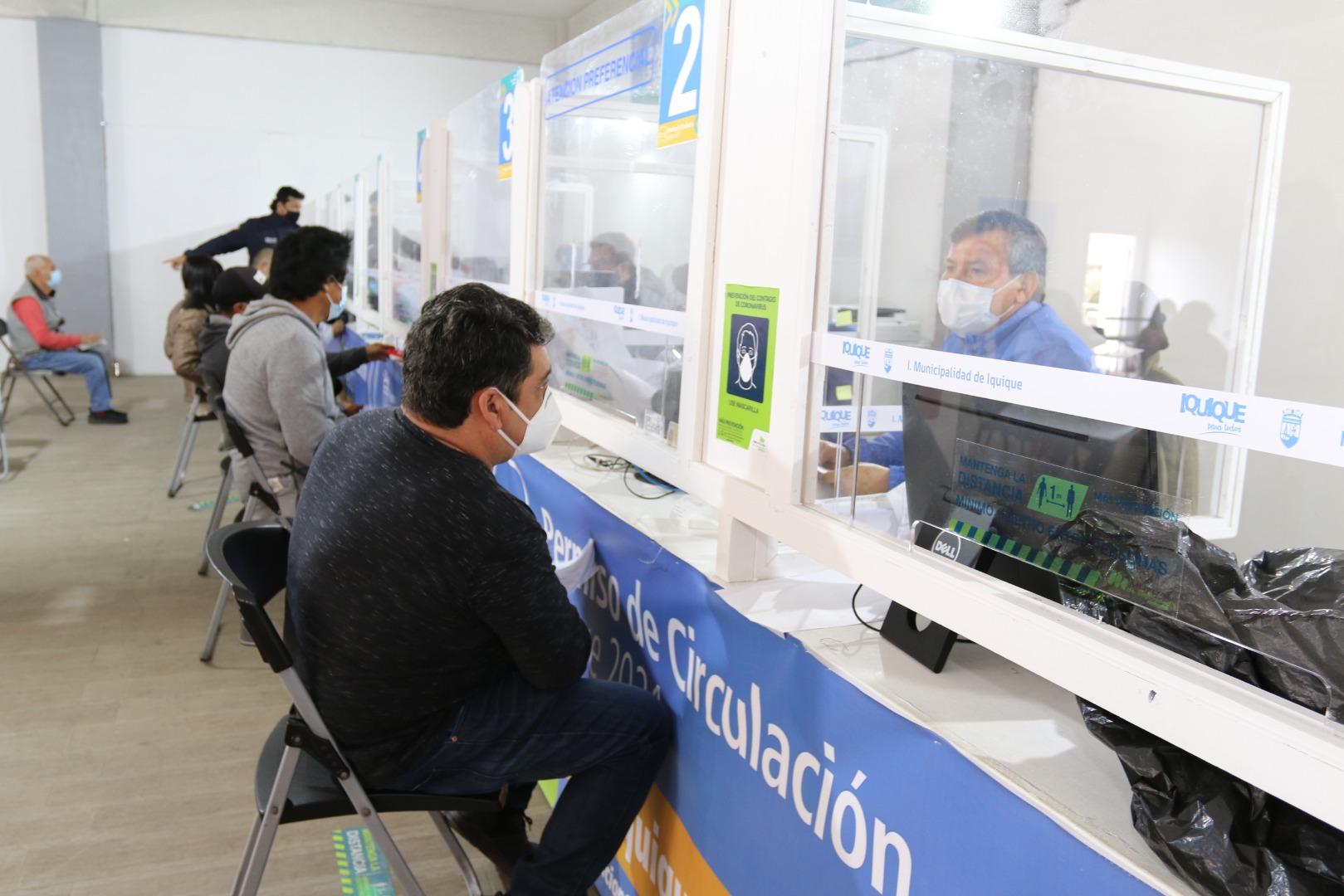 Pago de Permisos de Circulación 2021 en Iquique vía internet se acerca al 80%