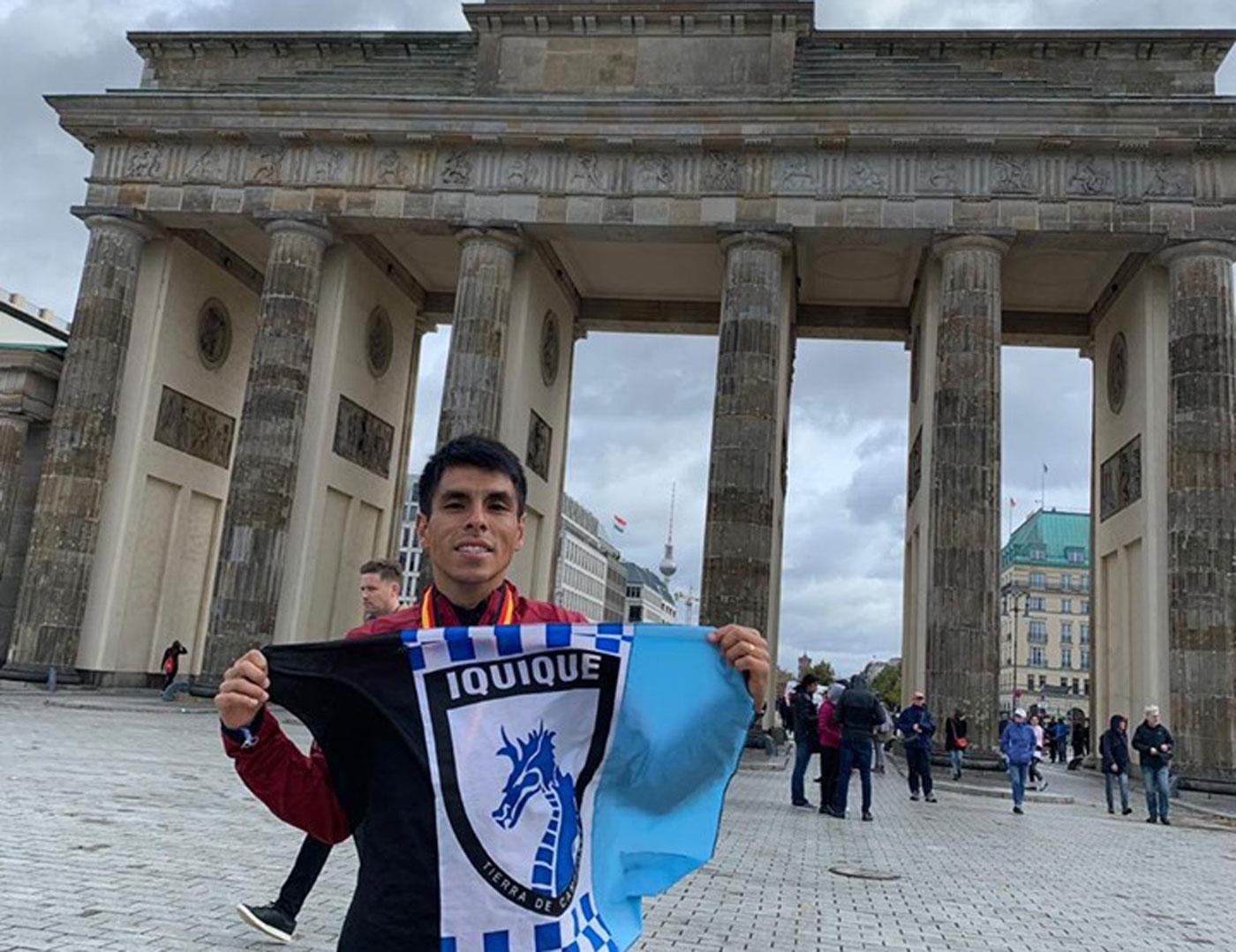 Fondista iquiqueño brilla en Maratón de Berlín